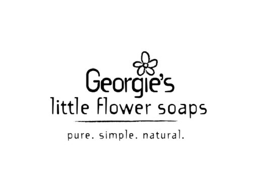 Georgie's little flower soaps